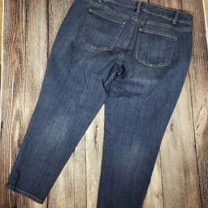 Talbots 16WP flawless 5 pocket boyfriend jeans